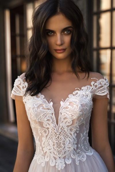 Свадебное платье Тэйтон (юбка без кружева)