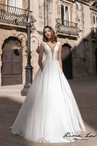 Свадебное платье А-силуэт  Лорин