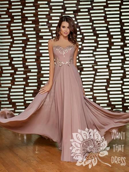 Платье на выпускной -  альберта