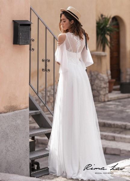 Закрытое свадебное платье Пенелопа
