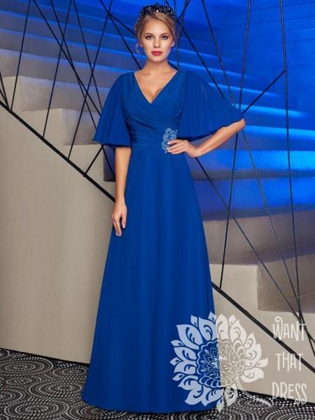 Длинное вечернее платье беатриче