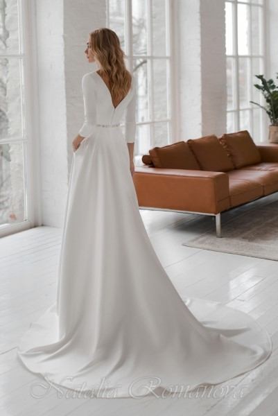Пышное свадебное платье брук