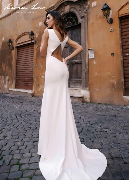 Свадебное платье со шлейфом Carey