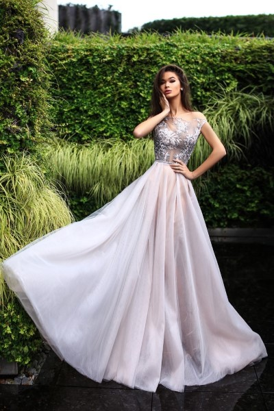 Длинное вечернее платье castra (pollardi)