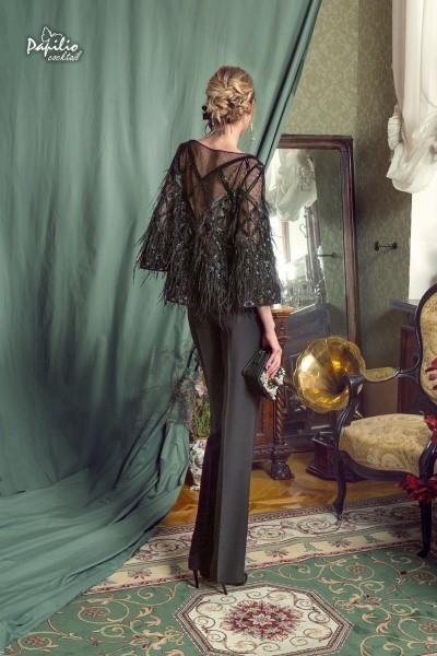 Вечернее платье 447 (брюки, блузка, топ)