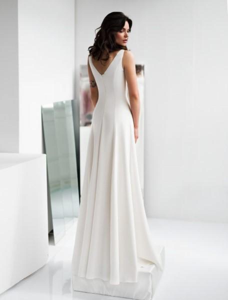 Прямое свадебное платье eva (юнона)