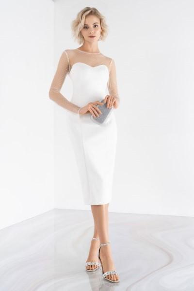 Недорогое свадебное платье 0489