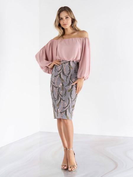 Вечернее платье Модель emse 3493 блузка, 2493 юбка