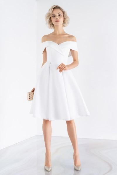 Короткое платье А-силуэт emse 0458