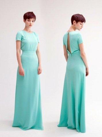 Платье на выпускной -  3315 мята