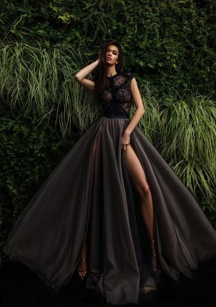 Длинное вечернее платье hara pollardi