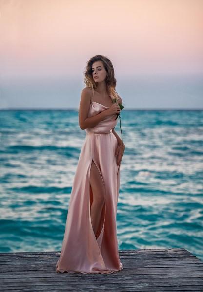 Длинное вечернее платье иа-1