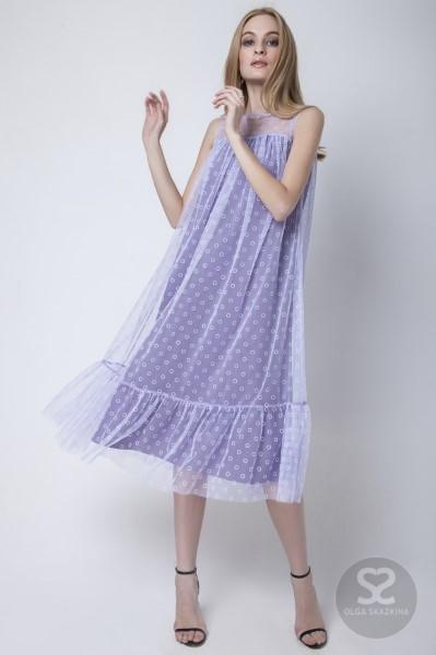 Оригинальное летнее вечернее платье-футляр 160104