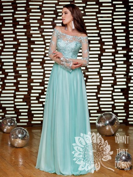 Платье на выпускной -  лесли