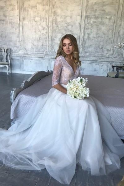 Пышное свадебное платье koroleva