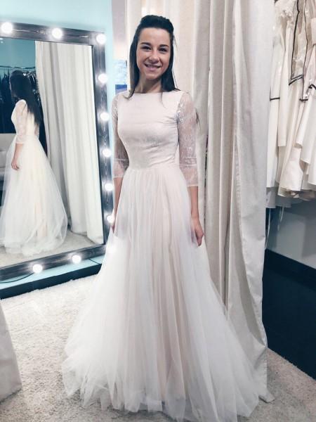 Пышное свадебное платье линда