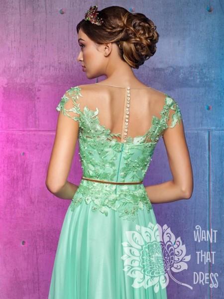 Длинное вечернее платье мирей тулианна