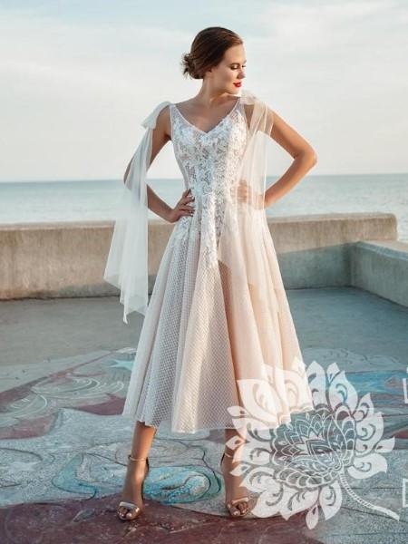 Классическое свадебное платье Стефани
