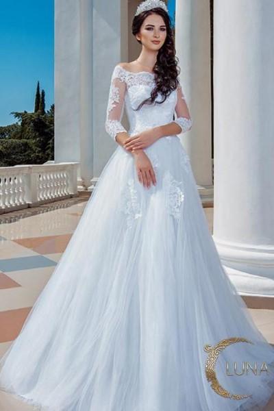 Свадебное платье  нелли (xl size) В наличии в Спб