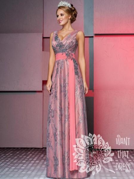 Длинное вечернее платье рикарда