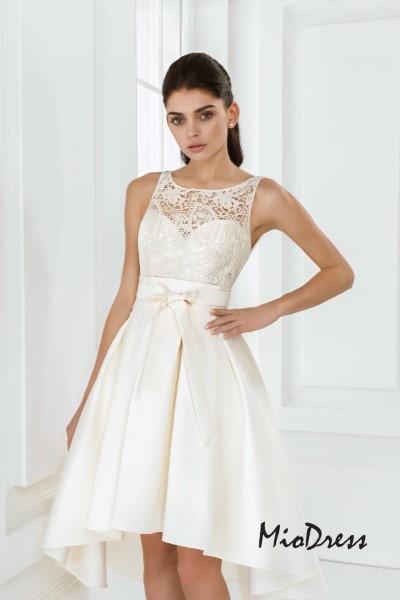 Выпускное короткое платье Мирей