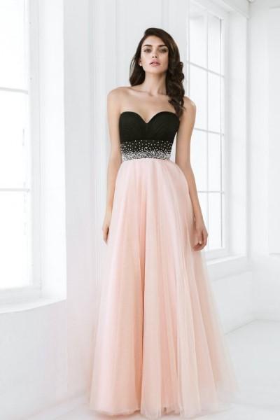 Платье на выпускной -  барбарис