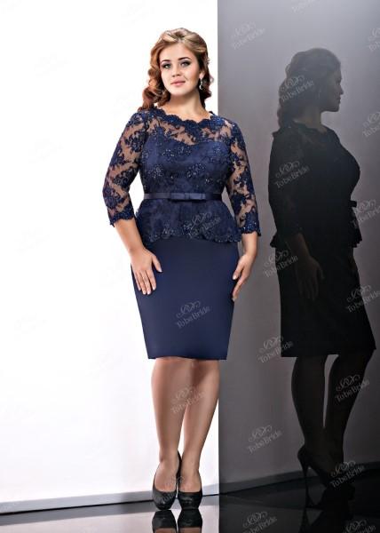Коктейльное короткое вечернее платье st063bxl