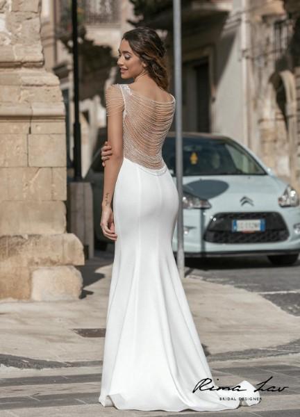 Прямое свадебное платье vivi